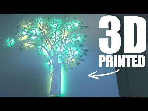 This 3D Printed Tree Changes COLOR!