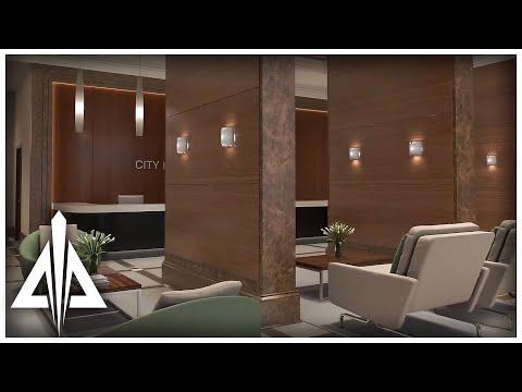 Hotel Lobby Lighting Study