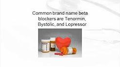 Beta Blockers For Hypertension