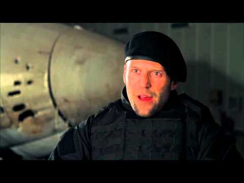 Jason Statham 'The Expendables 2' Interview! [HD]