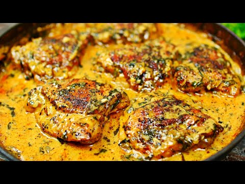 creamy-garlic-chicken-recipe---easy-baked-chicken-in-creamy-garlic-sauce