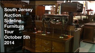 October 5, 2014 - Sideline Furniture Tour - South Jersey Auction