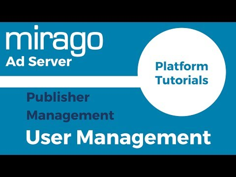 Publisher User Management