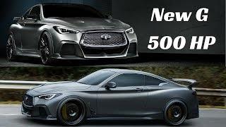New Infiniti G - 500 HP