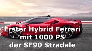 Erster Hybrid Ferrari - 1000 PS und Allrad
