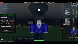 Roblox tornado survival #1