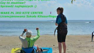 Czy da się nauczyć kitesurfingu w 1 dzień?  / WAKE.PL Kursy do skutku od 15stu lat :)