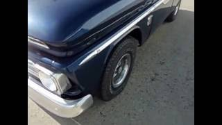 1966 CHEVY C10 SHORTBED FLEETSIDE PICKUP 454 V8 FOR SALE
