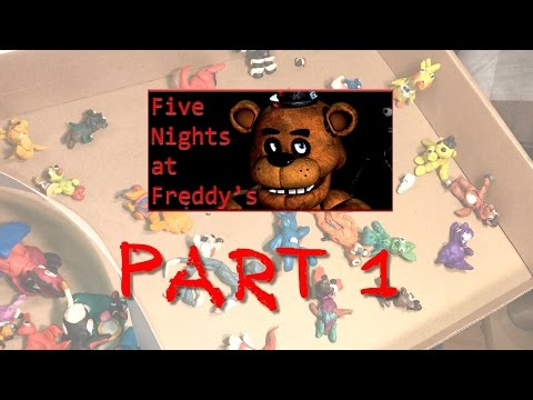 FNaF, мои фигурки из пластилина - герои игры ФНАФ (Five Nights At Freddy's). Часть 1.