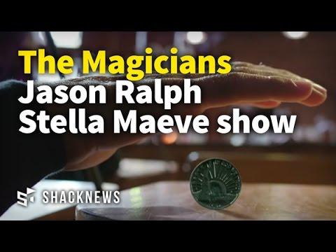 The Magicians Jason Ralph and Stella Maeve