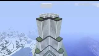 Burj Khalifa Minecraft By Higways.
