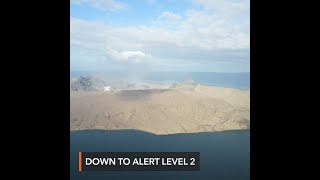 Phivolcs lowers Taal Volcano to Alert Level 2