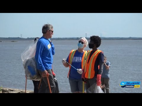 An Interview with Governor Carney during Delaware Coastal Cleanup Day