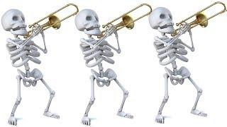 Spooky Scary Skeletons: Halloween 2018 Trombone Arrangement