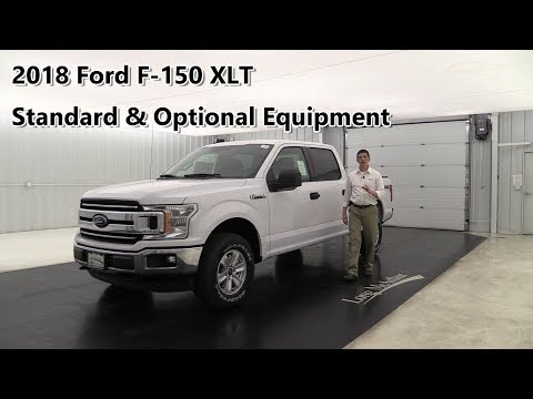 2018 FORD F-150 XLT OVERVIEW: STANDARD & OPTIONAL EQUIPMENT