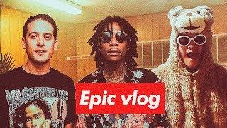 Fui a ver a Wiz Khalifa & G-Eazy   Epic Vlog