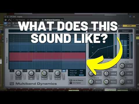 What Multiband Compression Sounds Like
