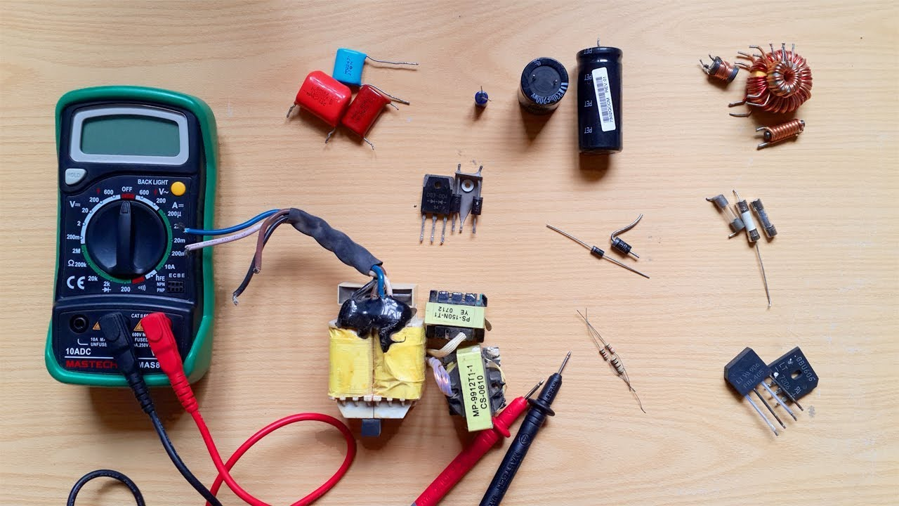 How To Test Electronic Componets Testing Components Learn A Motor Works And Checking Electrical Circuits With Dmm