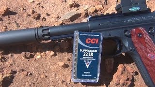 CCI SUPRESSOR AMMO REVIEW