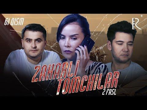 Zaharli tomchilar (o'zbek serial) | Захарли томчилар (узбек сериал) 61-qism #UydaQoling