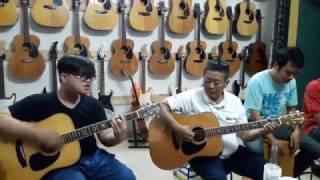 Rocker nhí Vương Bảo Lộc tại Nhạc cụ VŨ UYÊN