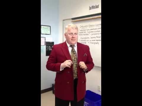 Mr.Murray in Oceanography
