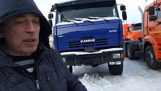 Клиент из Якутии выбирает тягач 44108 КАМАЗ для зимника