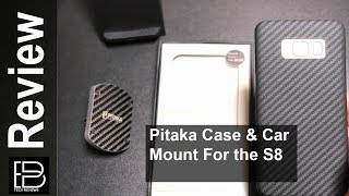 Pitaka Case & Car mount for the S8 & S8 plus