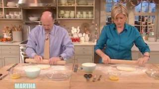 Banana Cream Pie - Part 1 ⎢jim Cramer ⎢martha Stewart