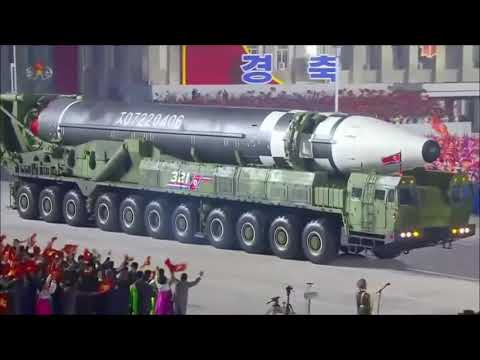 북한 새벽 열병식 신형미사일 김정은 참석, 참석한 군인,시민들 마스크 착용은 없겠죠