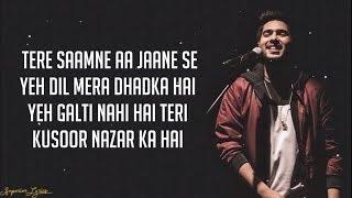 Download song Dil Mein Chhupa Loonga - Wajah Tum Ho (Lyrics) | Armaan Malik & Tulsi Kumar | Meet Bros
