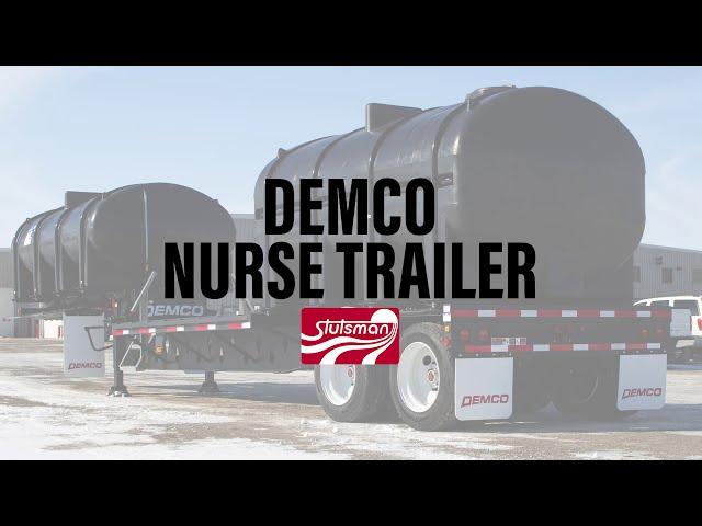 Demco Liquid Tender Trailer