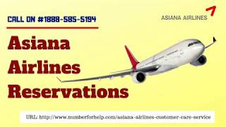 Steps to Book Asiana Airlines Reservations Online | Asiana Airlines Manage Booking