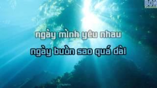 Ăn Năn - Karaoke - Như Quỳnh