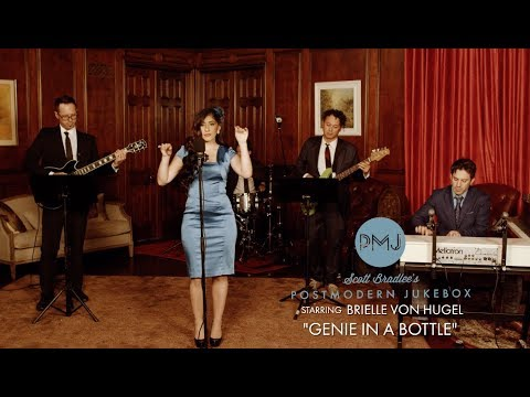 Genie in a Bottle - Christina Aguilera ('60s Style Cover) ft. Brielle Von Hugel Mp3