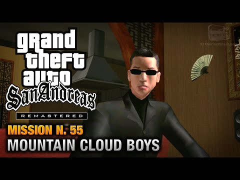 GTA San Andreas Remastered - Mission #55 - Mountain Cloud Boys (Xbox 360 / PS3)