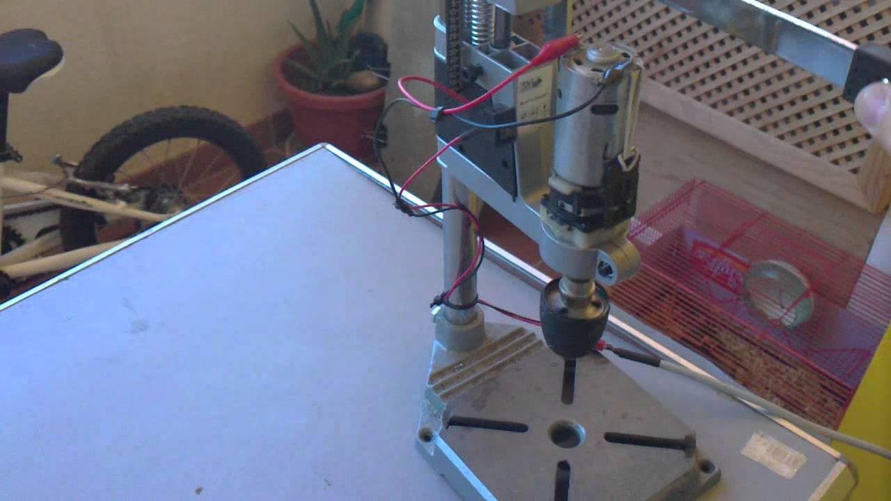 Taladro de columna 12 voltios mp4 youtube - Taladros de columna ...