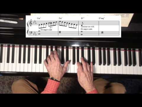 Jazz Piano College 204 IMPROV All The Things You Are