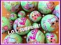 Unboxing 2 x  L.O.L. Surprise (waarvan 1 x Lil Sisters)