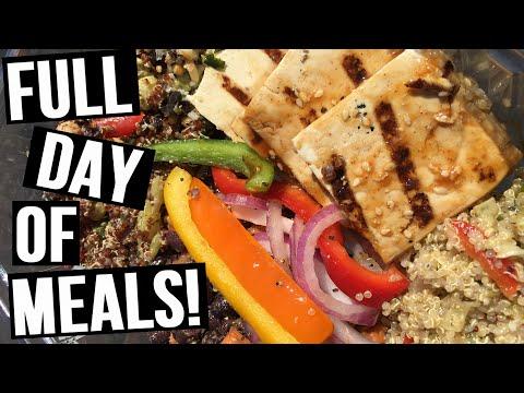 DELICIOUS VEGAN FULL DAY OF EATING | VEGAN PROTEIN