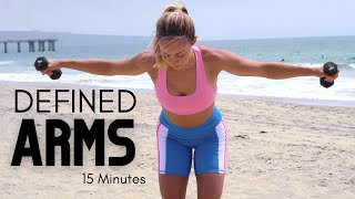 15 MIN DEFINED ARMS IN TWO WEEKS (Standing At Home Workout)