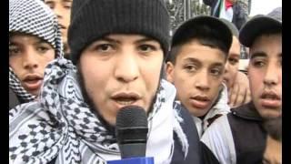 الجزائر وقفة تضامنية مع غزة youcef slimani