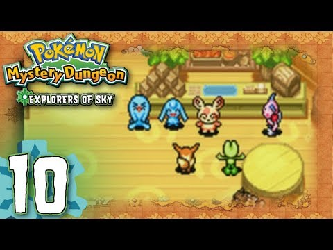 Pokemon Mystery Dungeon: Explorers of Sky - Part 10 - Spinda Cafe