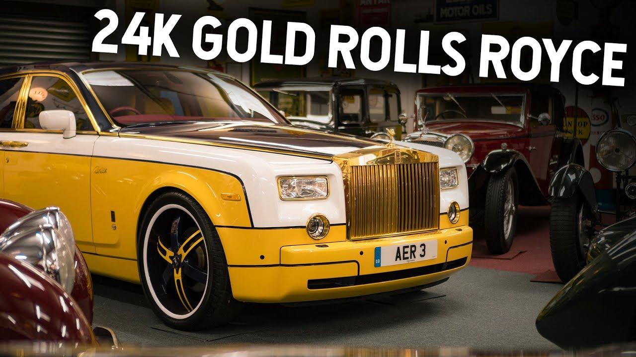 Gold Rolls Royce >> 24 Karat Gold Rolls Royce Phantom