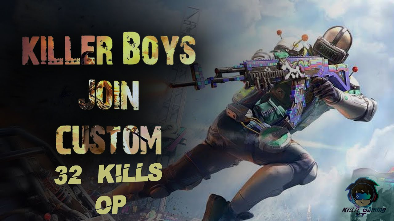 #killerboys YT #pubgcustoms l 9PM Erangle l  Gujarati and hindi commentary gameplay