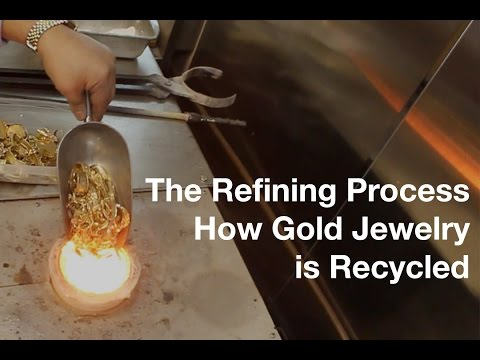 The Refining Process How Gold Jewelry is Recycled