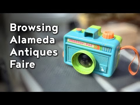 Browsing (and Shopping) The Alameda Antiques Faire
