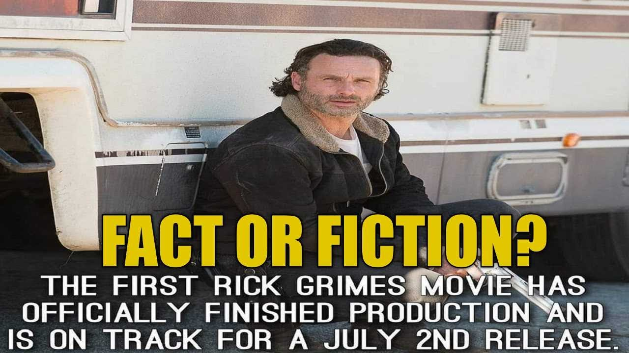 Download Fact Or Fiction? Is The Rick Grimes Movie Production Really Done? Will Rick Return To TWD Show?