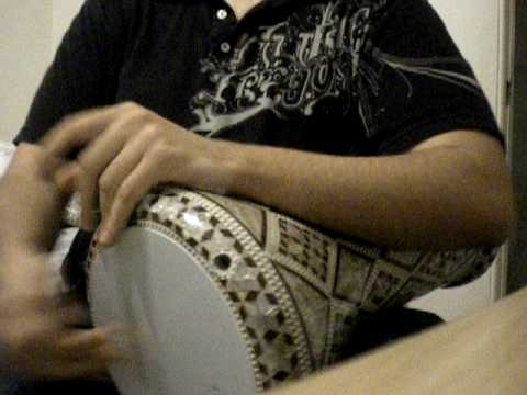 how to play arabic drum