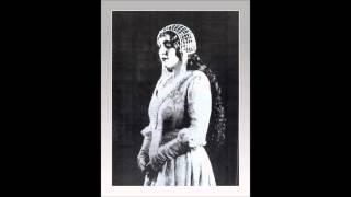 """Soprano CLAUDIA MUZIO - Otello """"Ave Maria""""  (1917-18)"""